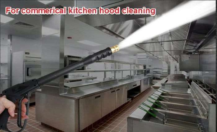 Commerical Kitchen Hood Cleaning Machine 12