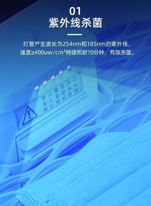 Face mask sterilizer,multifunction disinfector for PPE materials 4