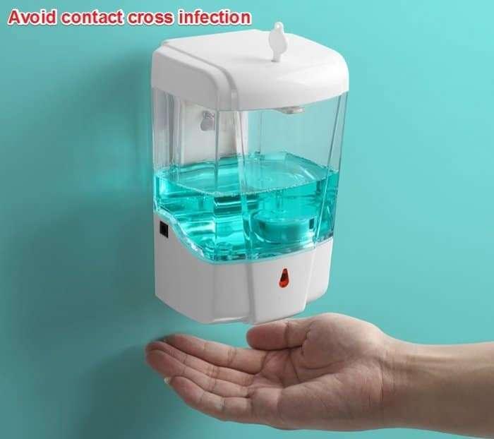 Automatic Disinfectant Dispenser,Infrared body sensor Disinfectant Dispenser 8