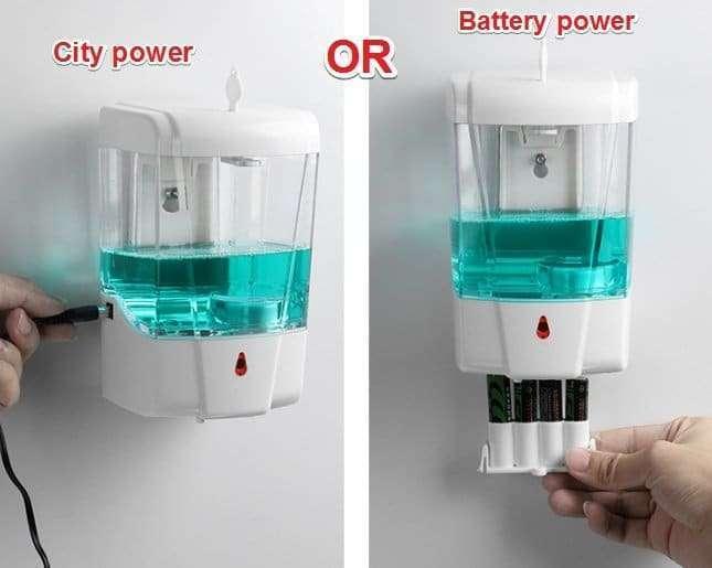 Automatic Disinfectant Dispenser,Infrared body sensor Disinfectant Dispenser 10