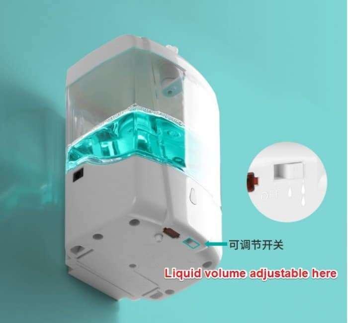 Automatic Disinfectant Dispenser,Infrared body sensor Disinfectant Dispenser 12