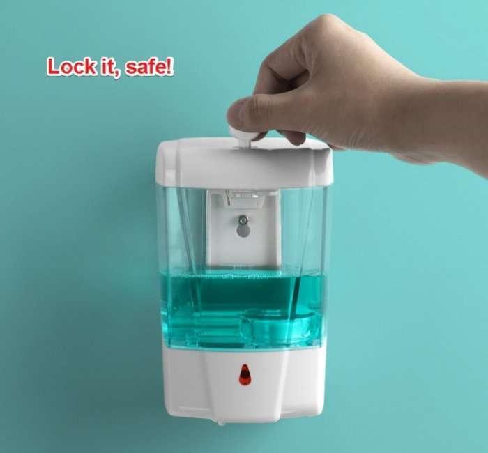 Automatic Disinfectant Dispenser,Infrared body sensor Disinfectant Dispenser 16