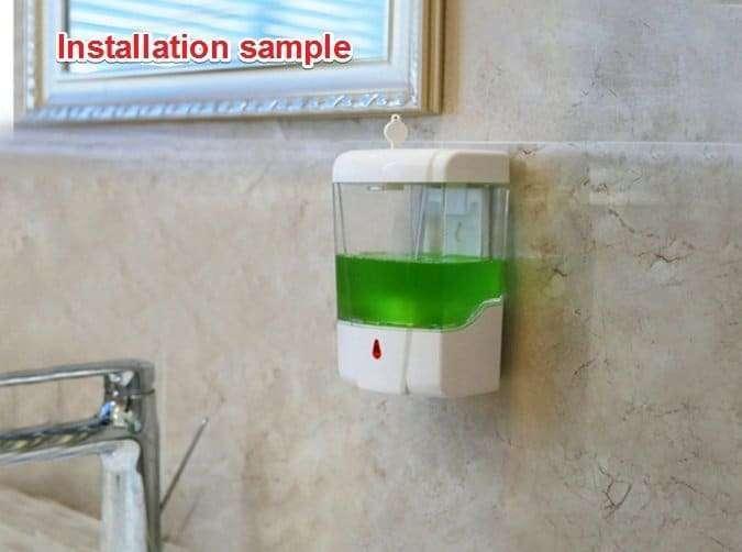 Automatic Disinfectant Dispenser,Infrared body sensor Disinfectant Dispenser 20