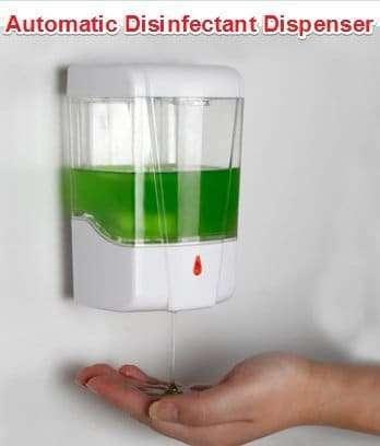 Automatic Disinfectant Dispenser,Infrared body sensor Disinfectant Dispenser 2