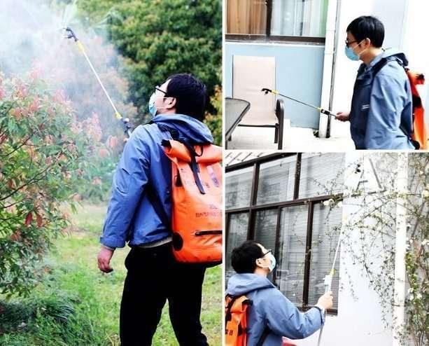 Foldable disinfectant mist sprayer machine 8