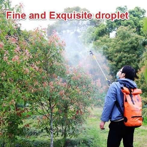 Foldable disinfectant mist sprayer machine 10