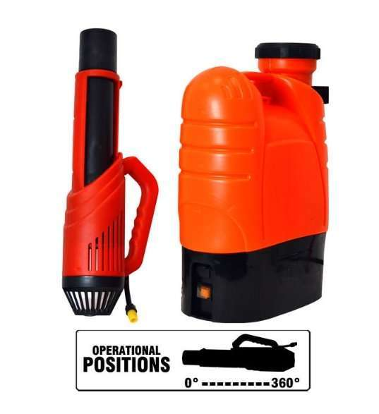 Disinfectant Cordless Electrostatic Sprayer,Electrostatic disinfectant fogger atomizer 14