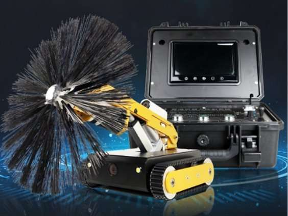 HVAC air duct robot cleaning machine 2