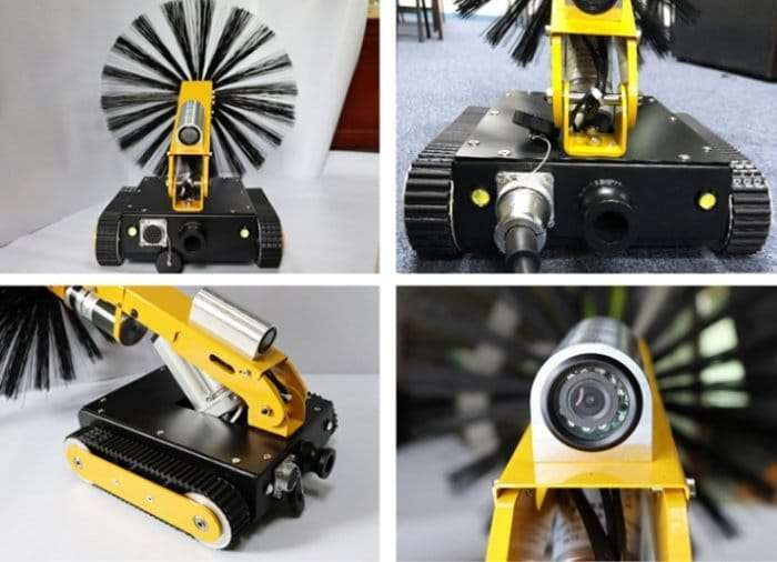 HVAC air duct robot cleaning machine 6