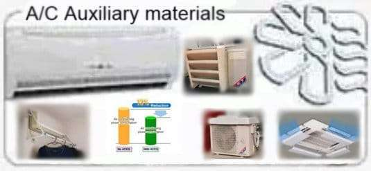 Air Conditioner System Auxiliary Materials