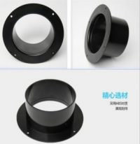 ABS plastic collar for air vent