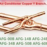 AUX Copper Distribution Tube Fittings Y branch joint kit