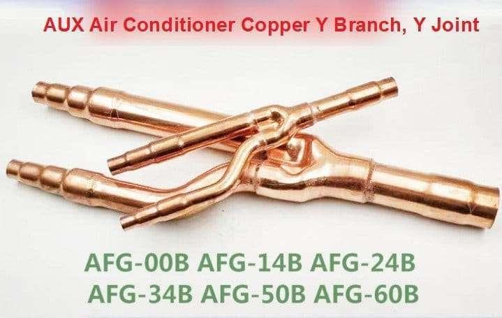 AUX Air Conditioner Copper Y Branch Y Joint