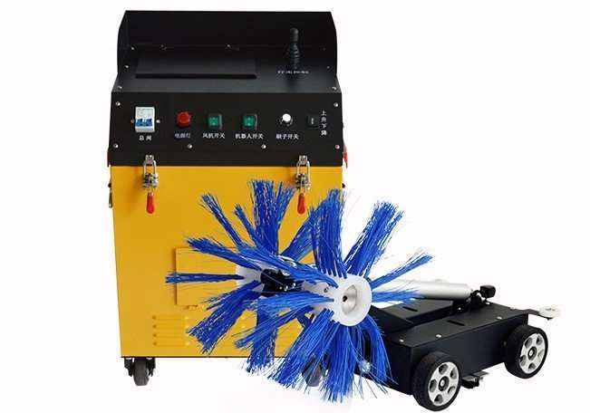 Air duct brush cleaning and dust suction machine 2