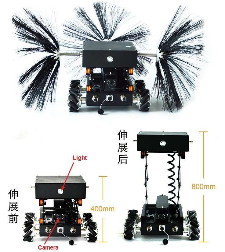 Air ventilation duct cleaning robot 2
