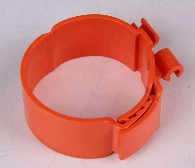 Plastic clamp for insulation refrigeration copper pipe 4