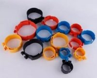 Plastic clamp for insulation refrigeration copper pipe