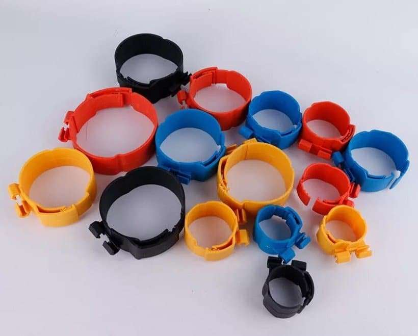 Plastic clamp for insulation refrigeration copper pipe 2
