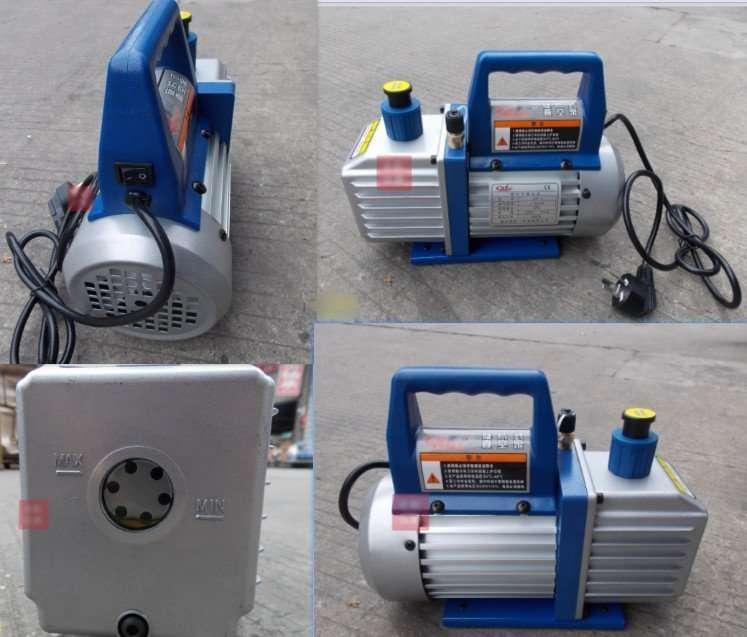 Single-stage vacuum pump details