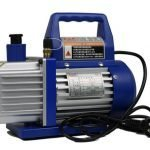 Single-stage vacuum pump hand carrying type