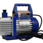 Single-stage vacuum pump