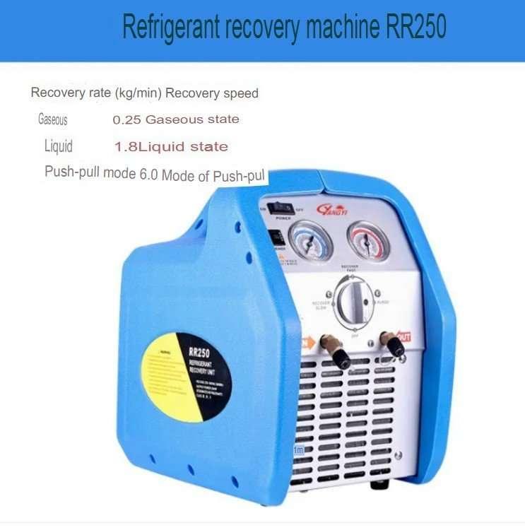 Refrigerant Recovery Recycling Pump Machine 8