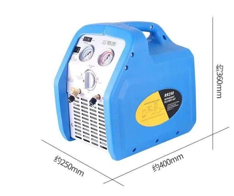 Refrigerant Recovery Recycling Pump Machine 2
