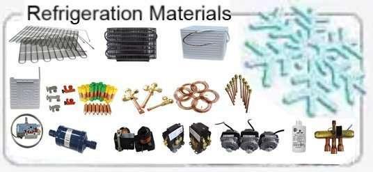 Refrigerating materials
