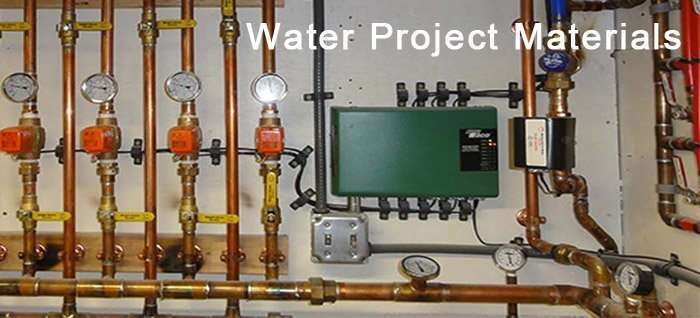 Water Project Materials