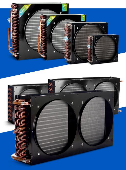 Freezer refrigerator cold storage finned condenser radiator air-cooled evaporator 4