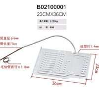 freezer refrigerator aluminium evaporator plate-01