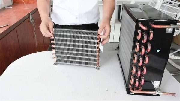 Freezer refrigerator cold storage finned condenser radiator air-cooled evaporator-022