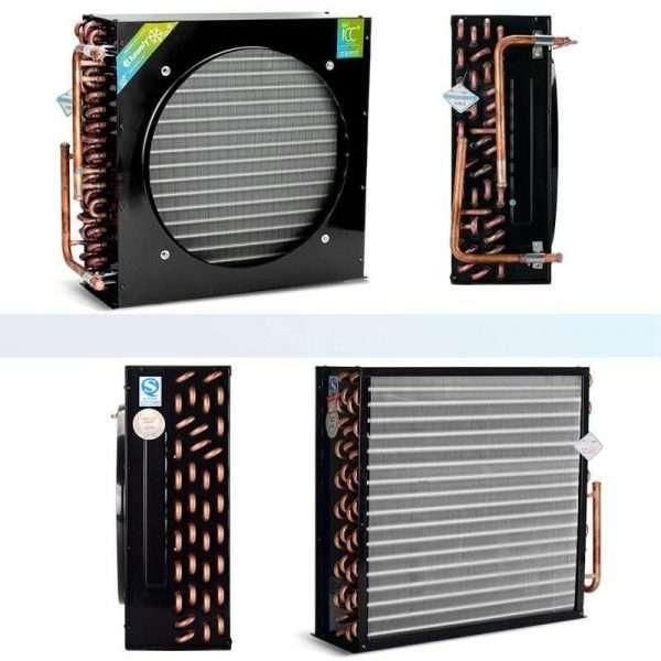Freezer refrigerator cold storage finned condenser radiator air-cooled evaporator-025