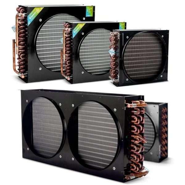 Freezer refrigerator cold storage finned condenser radiator air-cooled evaporator-026