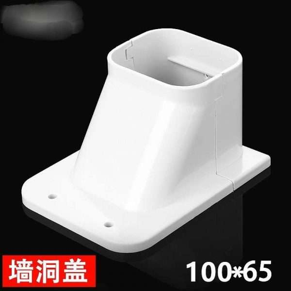 100X65mm air conditioner linest pipe duct wall hole cover
