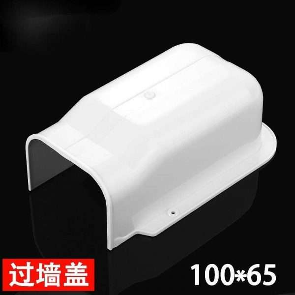 100x65mm air conditioner pipe duct wall hole cover