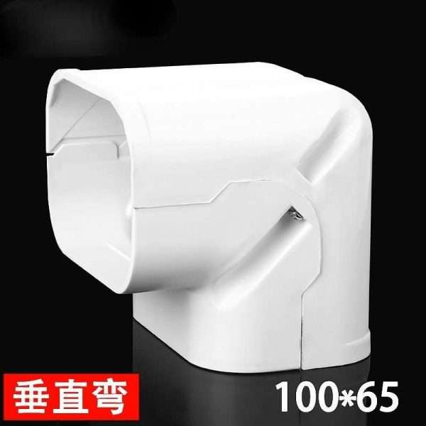 100x65mm duct 90° bent of ac connecting pipe system