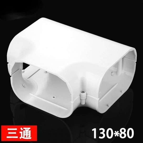 130x80mm air conditioner ducttee fitting