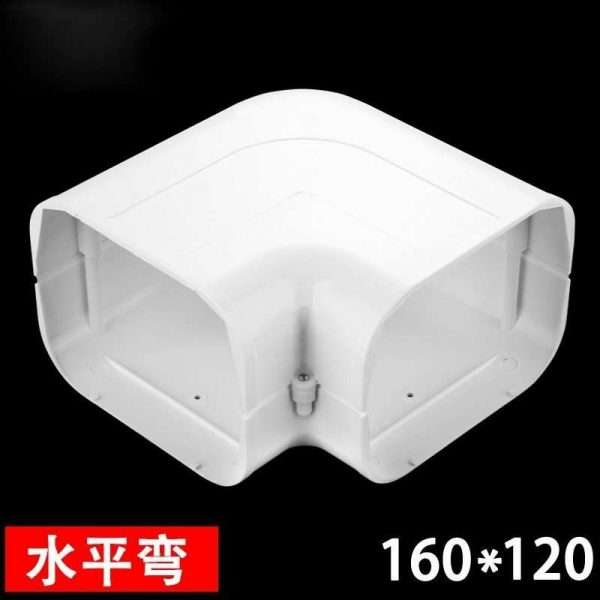160x120mm air conditioner linest duct horizontal bent