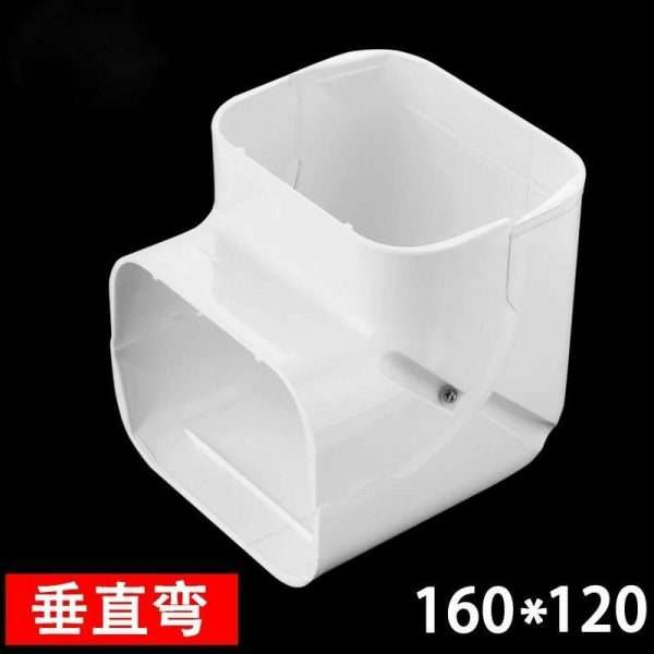 160x120mm air conditioner linest duct vertical bent