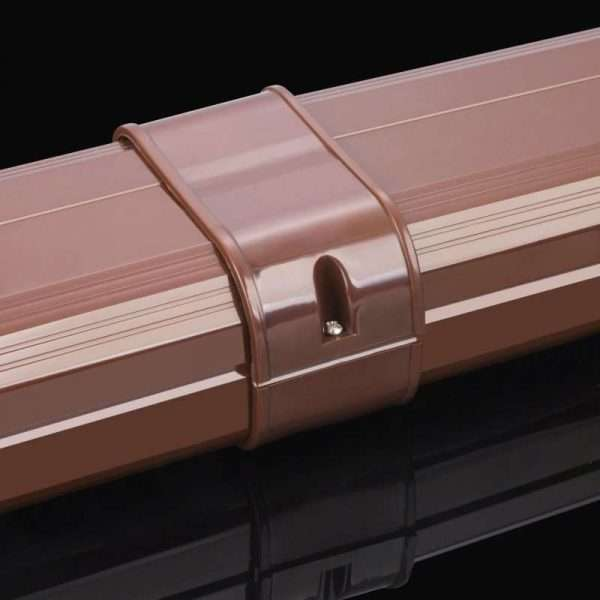 brown duct direct connector for air conditioner pipe duct