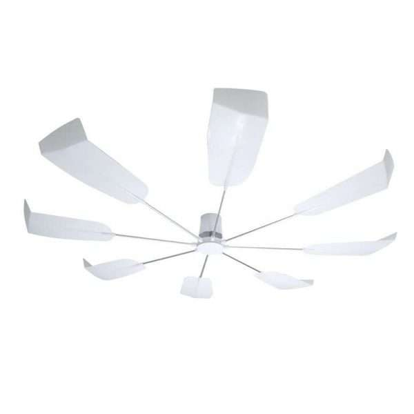 Ceiling mounted air conditioner air wing blades rotary air deflector-04